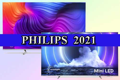 """""""Philips"""" televizorių serija 2021 m."""