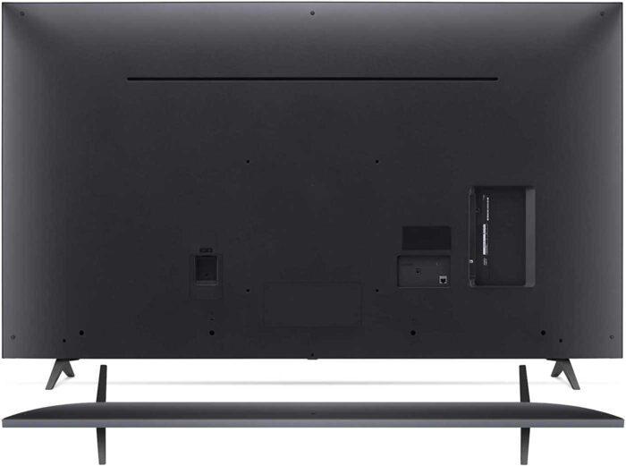 LG 55UP77006LB UHD 4K back view