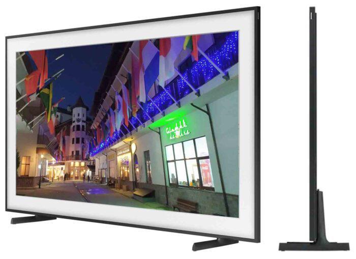 Samsung 55LS03A apzvalga - televizorius Frame 2021 side view